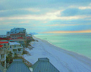 Florida Panhandle Framed Prints - Rooms  with a View Framed Print by Lizi Beard-Ward