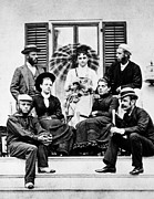 1878 Photos - Roosevelt Family 1878 by Granger