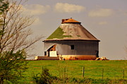 Marty Koch Framed Prints - Round Barn Framed Print by Marty Koch
