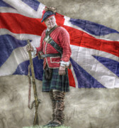 Randy Steele - Royal Highlander with Flag Soldier...