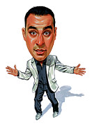 Canada Paintings - Russell Peters by Art