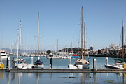 Wingsdomain Art and Photography - Sail Boats At The San Francisco Marina...