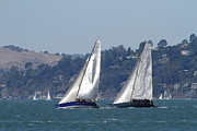 Wingsdomain Art and Photography - Sail Boats on The San Francisco Bay -...
