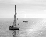 Sailing In Calm Waters Fine Art Print by Artist and Photographer Laura Wrede