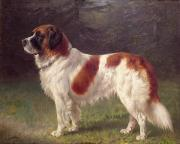 Heinrich Sperling - Saint Bernard