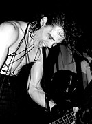 Punk Bass Prints - Samhain Danzig 1986 concert photo no.2 Print by J Fotoman
