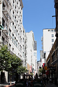 Wingsdomain Art and Photography - San Francisco - Maiden Lane - Outdoor...