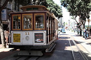 Wingsdomain Art and Photography - San Francisco Cable Car at The Powell...