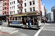 Wingsdomain Art and Photography - San Francisco Cable Car on Powell...