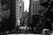 Wingsdomain Art and Photography - San Francisco California Street . bw ....