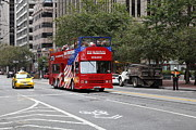 Wingsdomain Art and Photography - San Francisco Double Decker Tour Bus on...