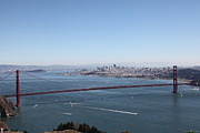 Wingsdomain Art and Photography - San Francisco Golden Gate Bridge And...
