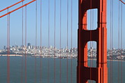 Wingsdomain Art and Photography - San Francisco in The Distance Through...