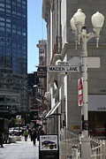 Wingsdomain Art and Photography - San Francisco Maiden Lane - 5D17096