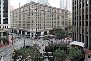 Wingsdomain Art and Photography - San Francisco Market Street - 5D17873