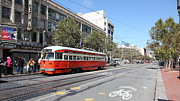 Wingsdomain Art and Photography - San Francisco Streetcar at The Orpheum...