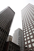 Wingsdomain Art and Photography - San Francisco Tall Buildings in The...