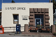Wingsdomain Art and Photography - San Quentin Post Office in California -...