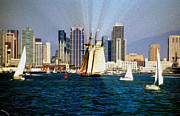 Cheryl Young - Saturday in San Diego Bay