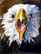 Featured Painting Acrylic Prints - Screaming Eagle 2004 Acrylic Print by Paul Miller