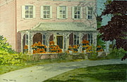 Pennsylvania Paintings - Seasonal Visitors by Melly Terpening
