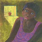 African-american Mixed Media Posters - Seeds of Hope Poster by Laurel Porter-Gaylord