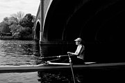 Rowing Crew Prints - Serenity Print by Tim  Telep