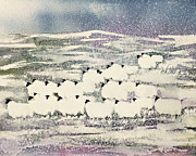 Suzi Kennett - Sheep in Winter