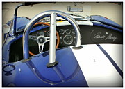 Carroll Shelby Photo Posters - Shelby Signed Cobra Poster by Karyn Robinson
