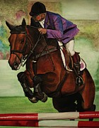 Bay Horse Originals - Showjumping by Lucy Deane