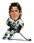 Superstar Painting Posters - Sidney Crosby Poster by Art  