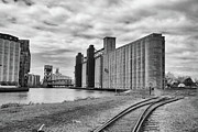 Skylines Photo Originals - Silos 15220 by Guy Whiteley