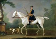 James Seymour - Sir Roger Burgoyne Riding