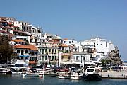 Yvonne Ayoub - Skopelos Harbour Greece