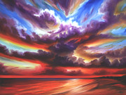 Power Paintings - Skyburst by James Christopher Hill