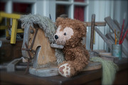 Disney Bear Photos - Sleepy Cowboy Bear by Thomas Woolworth
