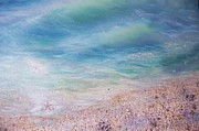 Raining Paintings - Smooth Seashore by E Luiza Picciano