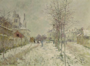 Claude Monet - Snow Effect