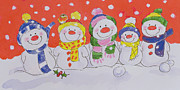Diane Matthes - Snow Family