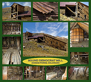 Northern Colorado Prints - Sound Democrat Mill Compilation Print by Tim Mulina
