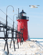 Michael Peychich - South Haven Pierhead Light