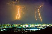 phoenix lightning dramatic phoenix lightening
