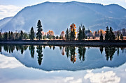 Clark Fork - Id - South of Clark Fork by Albert Seger