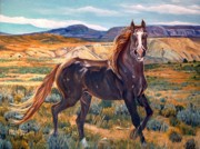 Melody Perez Metal Prints - Spirit of the Basin Metal Print by Melody Perez