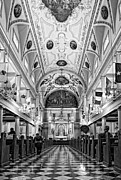 Steve Harrington - St. Louis Cathedral monochrome