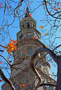 Suzanne Gaff - St. Philips Church Steeple - Charleston...
