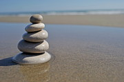 Sami Sarkis - Stack of pebbles on beach