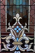 Horizontal Glass Art Posters - Stained Glass LC 03 Poster by Thomas Woolworth