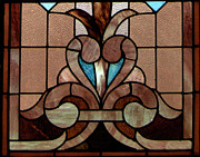 Horizontal Glass Art Prints - Stained Glass LC 06 Print by Thomas Woolworth