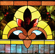 View Glass Art - Stained Glass LC 07 by Thomas Woolworth